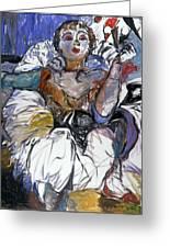 Degas Girl Greeting Card