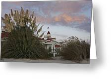 Del Coronado Brushes Greeting Card