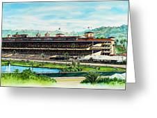 Del Mar Race Track Greeting Card