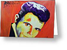 Del Shannon Greeting Card