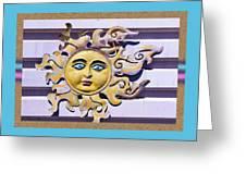 Del Sol Greeting Card