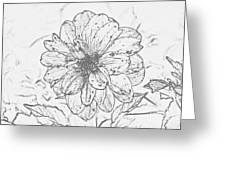 Lush Blossom Greeting Card