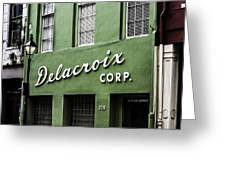 Delacroix Corp., New Orleans, Louisiana Greeting Card