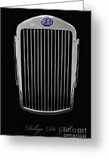Delage D6 Grill Greeting Card