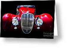 Delahaye Reinterpreted Greeting Card