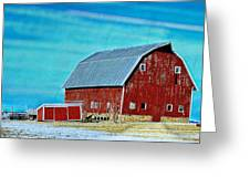 Delaware Barn 2 Greeting Card