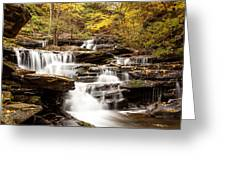 Delaware Falls Greeting Card