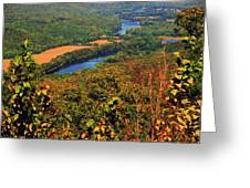 Delaware River From The Appalachian Trail Greeting Card