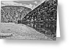 Delaware Water Gap Greeting Card