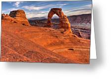 Delicate Arch 10 Greeting Card