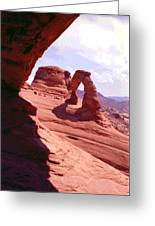 Delicate Arch 2 Greeting Card