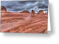 Delicate Arch Back Door Greeting Card