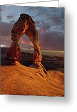 90134 Delicate Arch Greeting Card
