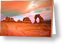 Delicate Arch Greeting Card