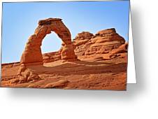 Delicate Arch The Arches National Park Utah Greeting Card