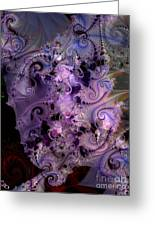 Delicate Lavender Forms Greeting Card