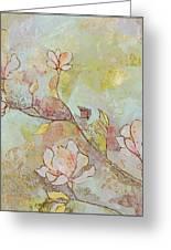 Delicate Magnolias Greeting Card