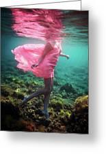 Delicate Mermaid Greeting Card