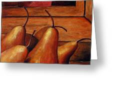 Delicious Pears Greeting Card