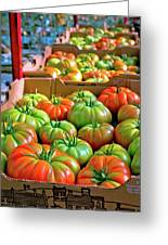 Delicious Tomatoes Greeting Card