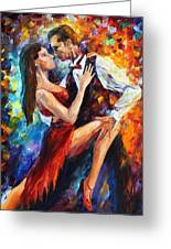 Delightful Tango Greeting Card