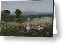 Delights Of Spring - Lmj Greeting Card