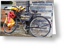 Delivery Awaits Greeting Card