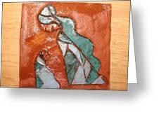 Dellas Gal - Tile Greeting Card