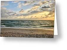 Delnor At Dusk  Greeting Card