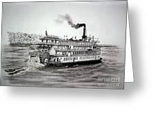 Delta Queen Greeting Card