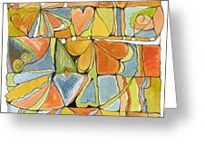 Delusions Of The Heart Greeting Card