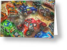 Demo Derby One Greeting Card