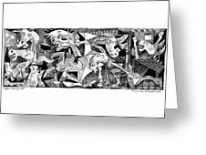 Democrat Guernica Greeting Card