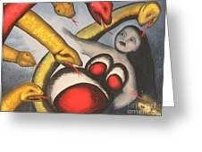 Demons Greeting Card