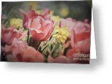 Demure Delight Greeting Card