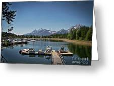 Denali Park Marina Greeting Card
