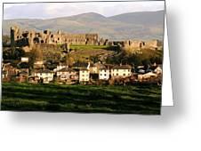 Denbigh Castle Greeting Card