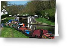 Denham Deep Lock Greeting Card