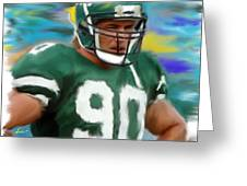 Dennis Byrd Greeting Card