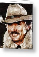 Dennis Weaver, Actor Greeting Card