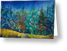 Dense Forest Greeting Card