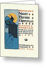Denslows Night Before Christmas By Clement Moore Lld 1902 Greeting Card