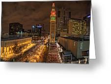 Denver 16th St Mall Greeting Card