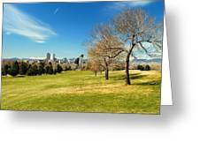 Denver City Park Greeting Card