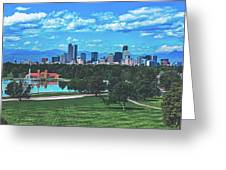 Denver City Park Greeting Card