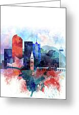 Denver, Colorado Skyline Greeting Card