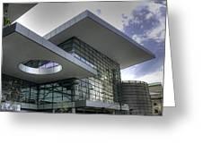 Denver Convention Center Greeting Card by David Bearden