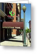 Denver Downtown Storefront Greeting Card