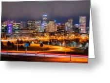 Denver Fog Greeting Card