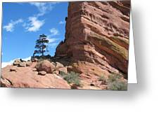 Denver Red Rocks Greeting Card